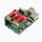 Tengying RPI L298N Raspberry Pi Motor Driver Board - Red