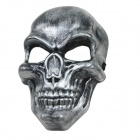 Gruesome Skull Style Scarry Mask for Halloween / Costume Party - Silver