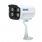 "ESCAM QD300 1/4 ""CMOS de la cámara de red IP 720P - Blanco (enchufe de la UE)"
