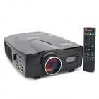 VisionTek XP528LUWV 800 x 480 3-HDMI & 2-USB Ports HD R/C Home Theater LED Projector Set (2 x AAA)