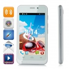 "Dbphone DB003S Dual-Core Android 4.2.2 WCDMA Bar Phone w/ 4.0"" Screen, GPS, Wi-Fi - White"