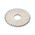 22mm Cutting Grinding HSS High-speed Steel Saw Blade w/ Connecting Rod  - Silver