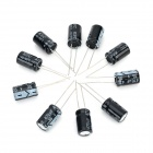 DIY 35V / 470UF Aluminum Electrolytic Capacitor - Black (10PCS)
