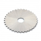 32mm Cutting Grinding HSS High-speed Steel Saw Blade w/ Connecting Rod  - Silver