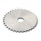 35mm Cutting Grinding HSS High-speed Steel Saw Blade w/ Connecting Rod  - Silver