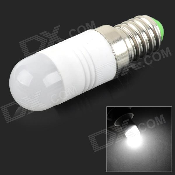 JRLED E14 2W 160lm 1-COB LED Bluish White Light Bulb (AC 220~240V)
