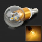 Buy MLSLED MLX-SCQP-3-3 E14 3W 240lm 3500K 6-SMD 5730 LED Warm White Bulb - + Yellow (AC 190~230V)