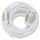 USB to Micro USB Data Cable for Samsung Galaxy NoteII / S3 / S4 - White (290cm)