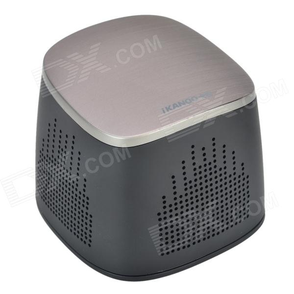 IKANOO I102 Bluetooth V3.0 Hands-free Speaker w/ Microphone + TF Slot - Black adriatica a3146 1213q