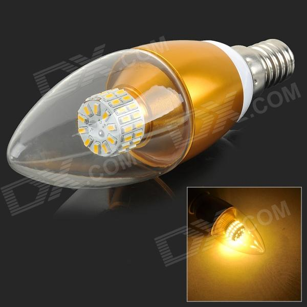 MLSLED MLX-RJP-1-5 E14 5W 350lm 3500K 50-SMD 3014 LED Warm White Lamp - White + Yellow (AC 85~265V)