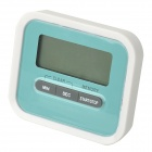 "HAPTIME 115 1.8"" LCD Digital Counterdown Timer - White + Blue (1 x AAA)"