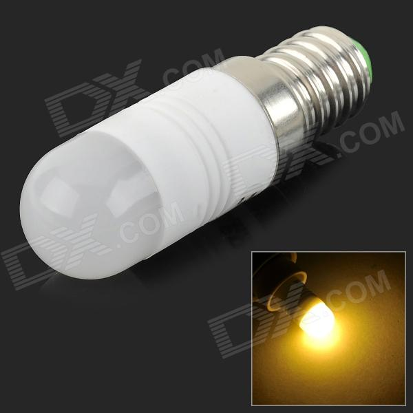 JRLED JRLED-2W-COB E14 2W 100lm 3000K COB LED Warm White Light Bulb - White (AC 220~240V)