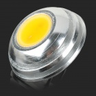 JRLED-LED JR-2W G4 2W 100lm 3000K COB LED Warm Spotlights blanco - plata + Amarillo (2 PCS / 12V)