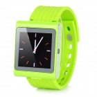"DIWEINUO Rubik D6 GSM Watch Phone w/ 1.54"" MiPi, Quad-band, Bluetooth and FM - Green"