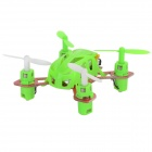 WLtoys V292 Outdoor 2.4GHz Mini 4-CH 6-Axis R/C Aircraft w/ Gyro - Green
