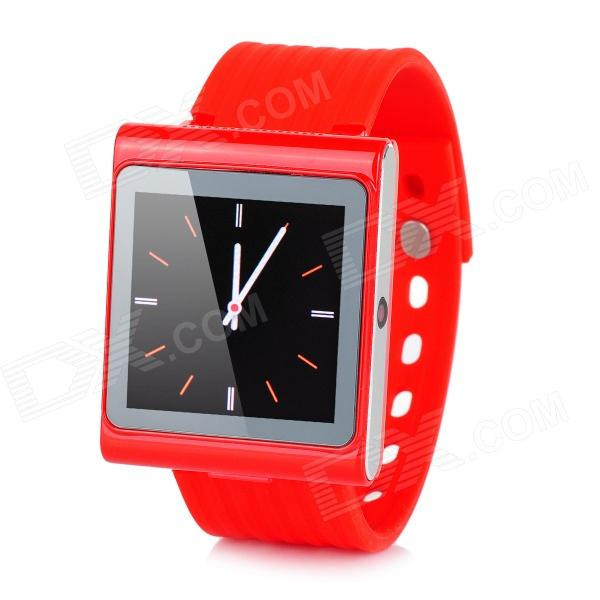 DIWEINUO Rubik D6 GSM Watch Phone w/ 1.54 MiPi, Quad-band, Bluetooth and FM - Red смартфон xiaomi redmi pro 32gb silver