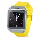 "DIWEINUO Zori D5 GSM Watch Phone w/ 1.54"" MiPi HD Screen, Quad-band, Bluetooth, FM - Yellow"