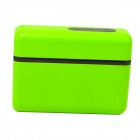 5200mAh External Li-ion Battery Charger Power Bank for IPHONE / IPAD / Cell Phone / MP3 - Green