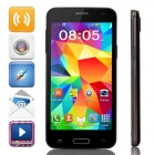 "Mini S5 MTK6572 Dual-Core Android 4.4.2 GSM Bar Phone w/ 4.5"" IPS, Wi-Fi, FM - Black"