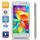 "Mini S5 MTK6572 Dual-Core Android 4.2 GSM Bar Phone w/ 4.5"" IPS, Wi-Fi, FM - White"