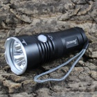KINFIRE K30S 3-Cree XM-L T6 1800lm 4-Mode Cool White Flashlight w/ Battery Indicator (2/3 x 18650)