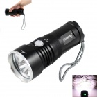 KINFIRE K30S 3-LED 1800lm 4-Mode Cool White Flashlight w/ Battery Indicator (2/3 x 18650)