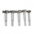 GX23 Woodworking Hard Alloy Forstner Drill Bit Tapper Tool  - Silver Grey (5PCS)