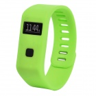 "MaiTech 10020140 Sports Running 0.6"" OLED Screen Wireless Bluetooth Intelligent Wristband - Green"