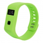 "MaiTech Sports Running 0.6"" OLED Screen Wireless Bluetooth Intelligent Wristband - Green"