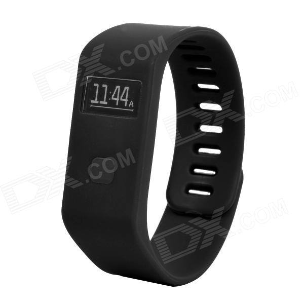 "MaiTech 10020138 Sports Running 0.6"" OLED Screen Wireless Bluetooth Intelligent Wristband - Black Baltimore Buy Ad"
