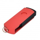 Ourspop U039 Externo USB 2.0 Flash Drive - Negro + Rojo (16GB)