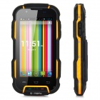 "OINOM V9 Wateproof Dustproof Shockproof Quad-core Android 4.2.1 WCDMA Phone w/ 4"", Wi-Fi - Orange"