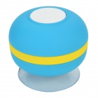 Lileng 305 Mini Suction Cup Wireless Bluetooth V3.0 Hands-free Speaker w/ TF Slot - Blue + Yellow
