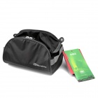 Naturehike NH15X008-S Ultra Lightweight Oxford Travel Toiletry Bag - Black