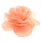 EQute Elegant Fashionalbe Solid Rose Flower Headdress Hair Clips / Corsage - 	Buff