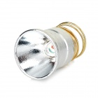 26.5mm CREE XR-E Q3 120lm Red Light Aluminum Textured Drop-in Module