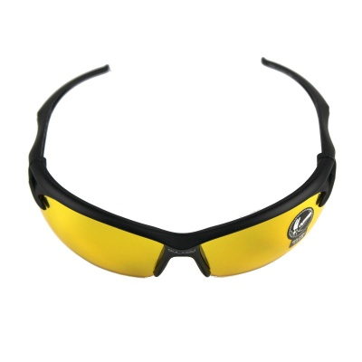 Outdoor Windproof Goggles Sunglasses for Cycling - Golden + Black