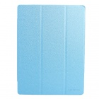9.7 Inch Solid Color PU + PC Magnetron Tablet Case With Stand for ChuWi V99X Tablet - Blue