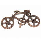 Bicycle Unlock Puzzle Game Toy - Black
