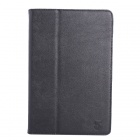 10.1 Inch Solid Color PU Tablet Case With Stand for ifive X3 Tablet - Black