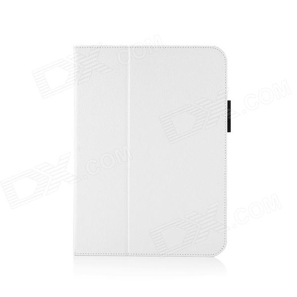 HighPro Protective PU Leather Case with Handle Strap for Samsung GALAXY Tab S 10.5 - White