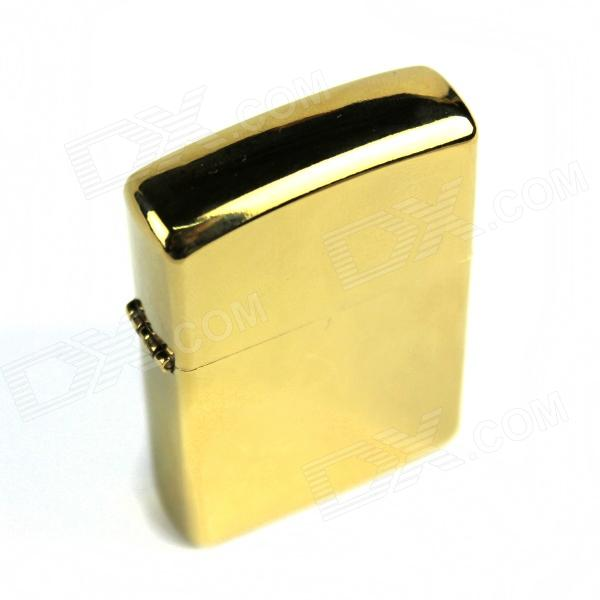 Retro Luxurious Kerosene Lighter - Golden