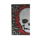 Skull Pattern Universal Mobile Phone Protective Back Protector Sticker - Black + Red + Multi-Colored