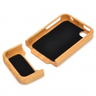 lw-001 Protective Bamboo Back Case for IPHONE 4 / 4S - Brown