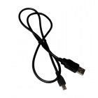 Micro 5-Pin to USB 2.0 Charging/Data Cable for  TV Box / Samsung + More - Black (80cm)