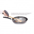 PAUL LORNA L0970 Kitchen Cooking Anti-Oil TPR Shield for Turner - Black