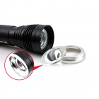 B3-E SMART-Flood-Throw LED 250lm 3-el modo de linterna blanca Zooming - Negro (1 x 18650)