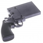Creative Gun Shaped Protective Plastic Case for IPHONE 4 / 4S / 5 / 5S - Black