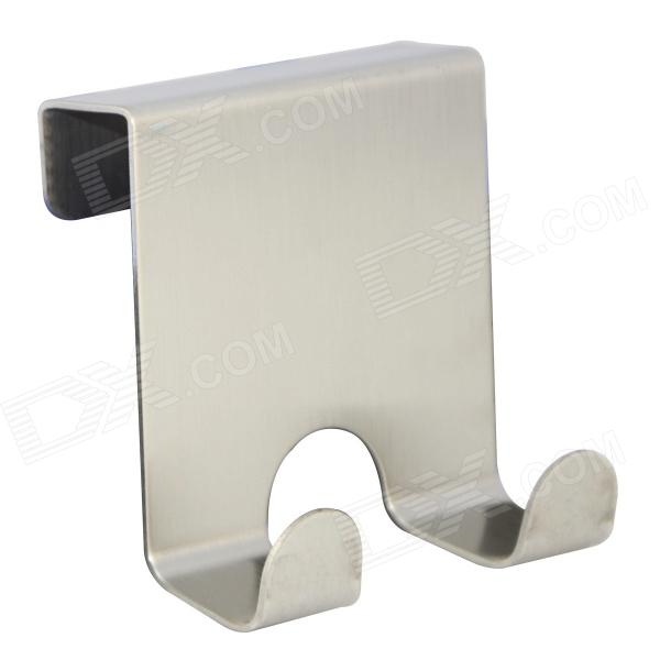 GAM1103 Stainless Steel Door Back Hook - Silver кухонная мойка ukinox gam 737 488 gw5k 1r