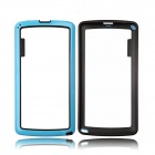 Protective TPU + PC Bumper Frame for LG G3 - Blue + Black
